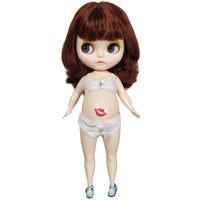 1/6 30 см Blyth кукла комбинированное тело включая одежду и обувь Сексуальная повязка BJD кукла игрушка для DIY ребенок глубоко любовь кукла