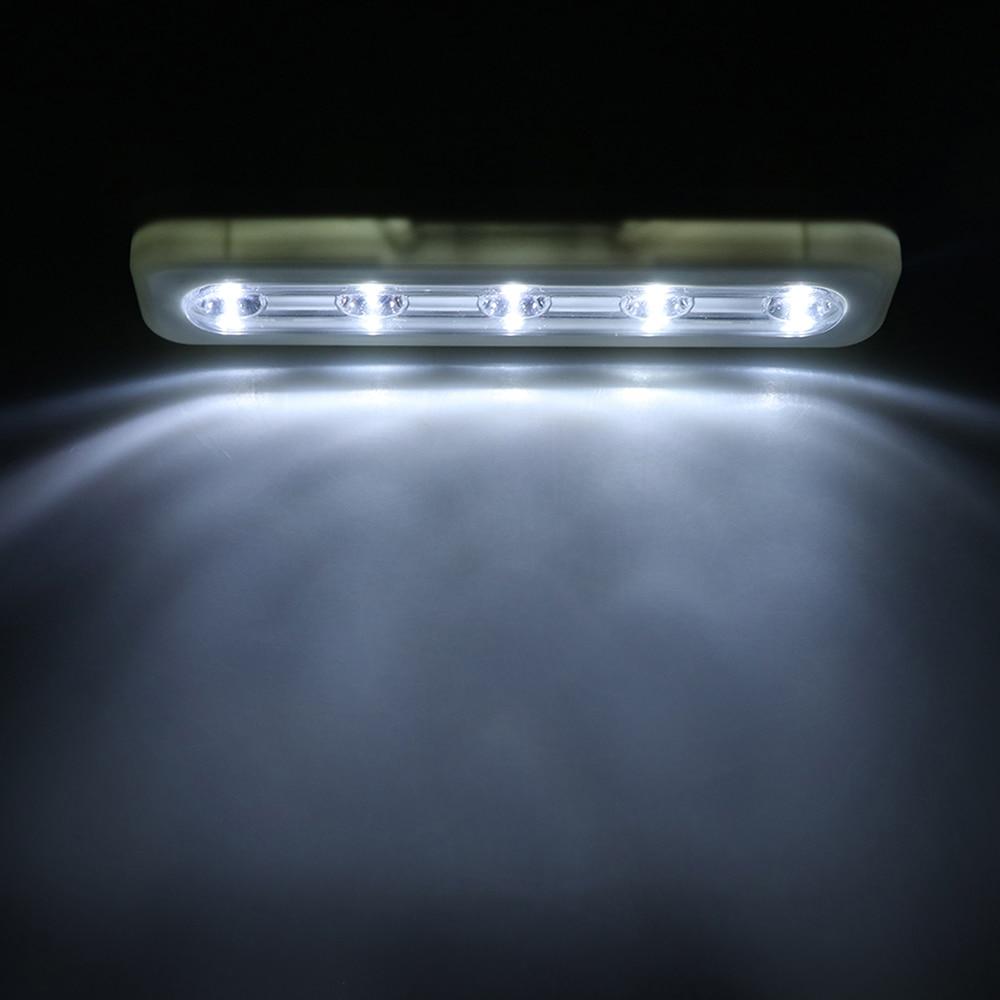 mini 5 led nachtlampje closet lamp draadloze muur licht batterij home verlichting voor onder keukenkastjes in mini 5 led nachtlampje closet lamp draadloze