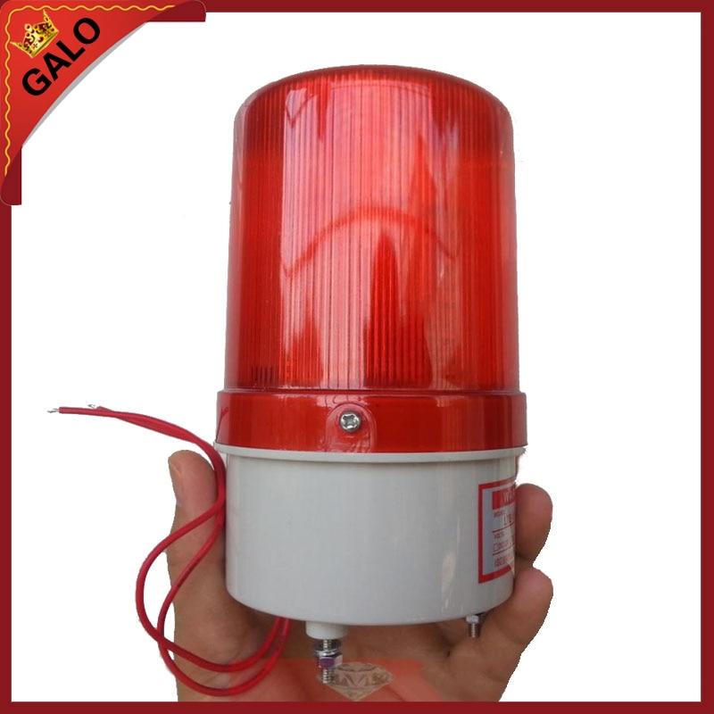 24V 12V 220V 110V RED Warning light LED lamp beacon for gsm  alarm system freies verschiffen doppel kanal schleifendetektor fur parkmanagement und mautsystem 220 v 110 v 12 v 24 v parking system