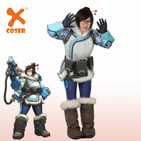 XCOSER OVERWATCH Mei Costume Full Set Costume Halloween Party Dress Cosplay Prop High Quality Game Cosplay Costume For Women
