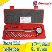 Dial Bore Gauge 10-18mm/0.01mm Center Ring Dial Indicator Micrometer Gauges Measuring Tools