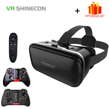 VR Shinecon 6.0 Stereo Casque Virtual Reality Glasses 3 D 3d Goggles Headset Helmet For Smartphone Smart Phone Cardboard Google