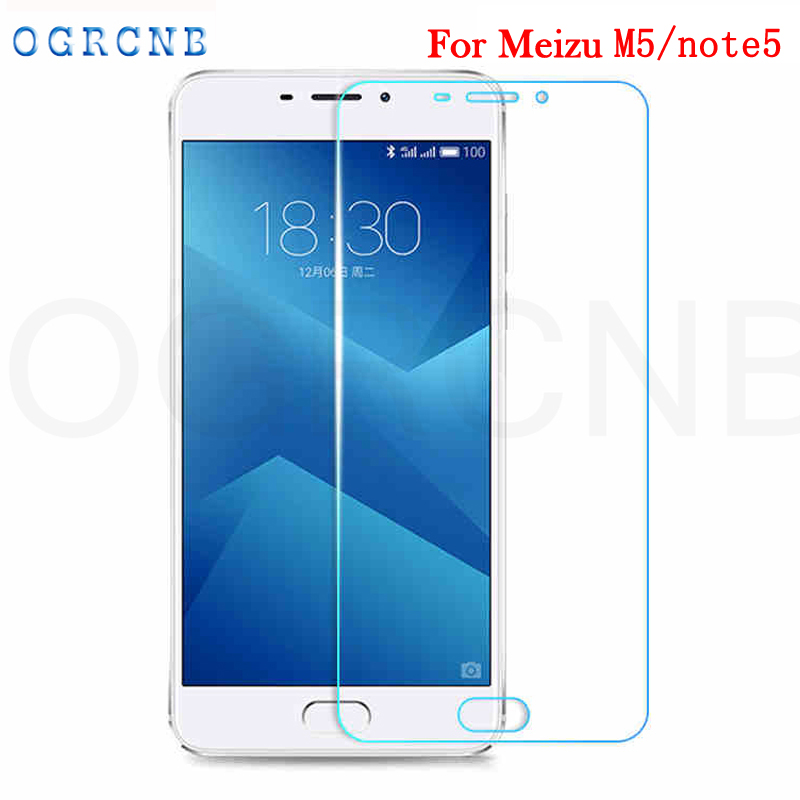 For Meizu M5 Note Screen Protector Tempered Glass Film For Meizu M5 note Meilan Note 5 Phone Screen Protective cover Film Case
