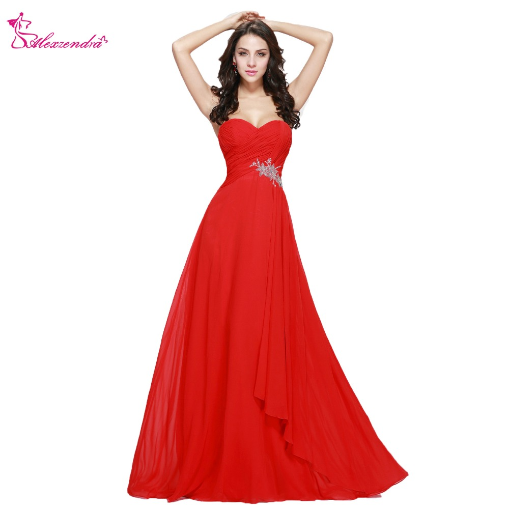 Alexzendra Simple Chiffon A Line   Bridesmaid     Dress   for Wedding Sweetheart Beaded Party Gown   Bridesmaids   Gown
