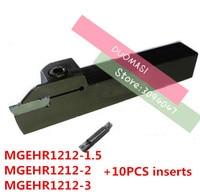 1 יחידות MGEHR1212 1.5/MGEHL1212 1.5/MGEHR1212 2/MGEHL1212 2/MGEHR1212 3/MGEHL1212 3 עם 10 יחידות קרביד הוספת מחרטה CNC כלים-בכלי הפיכה מתוך כלים באתר
