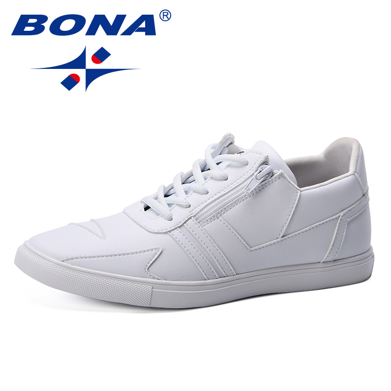 FOI Hommes Chaussures Casual Plat Sneakers Hommes Chaussures Loisirs Chaussures Noir Blanc Lace Up Sneakers pour Hommes Chaussures de Marche Confortable
