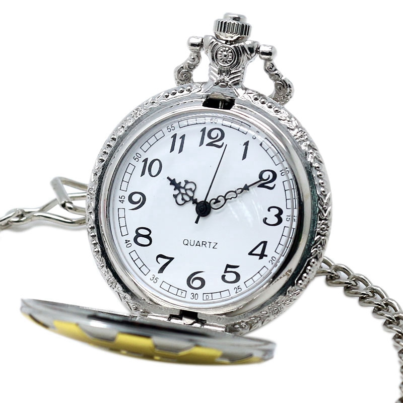 Fashion Game Fallout 4 Vault 111  Pocket Watch with 111 Theme Glass Dome Pendant Necklace Pocket Clock Best Gift Sets Box Chain 2018 (42)
