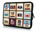 "10 "" Soft Neoprene Universal Laptop Sleeve Bag bolsa para 10.1 "" Samsung Galaxy Tab / Apple iPad 4 3 2 1"