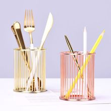 Round Stick Cylinder Pen Pencil Collection Holder Makeup Brushes Storage Tool Home Office Desk Organizer