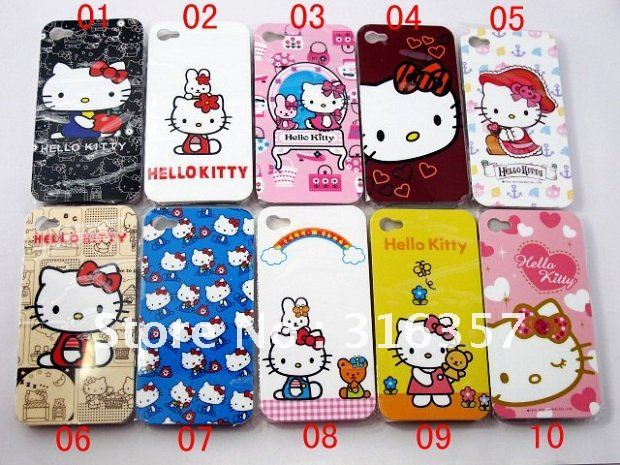 sports shoes 56628 a00f4 US $13.8 |Promotion New Arrival Cute Hello Kitty Backside Case /  Cover,Mobile Phone Cover,Cell Phone Case for IPhone 4G Free Shipping on ...