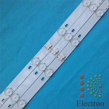 3set 40'' 775mm*17mm 10leds LED Backlight Lamps LED Strips w/ Optical Lens Fliter for TV Monitor Panel New