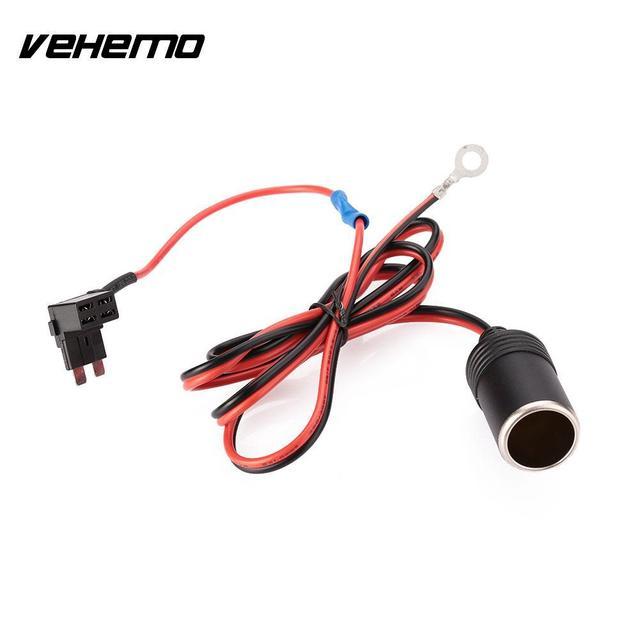VEHEMO 1M DC12V Car Auto Vehicle Cigarette Cigar Lighter Socket Plug ...