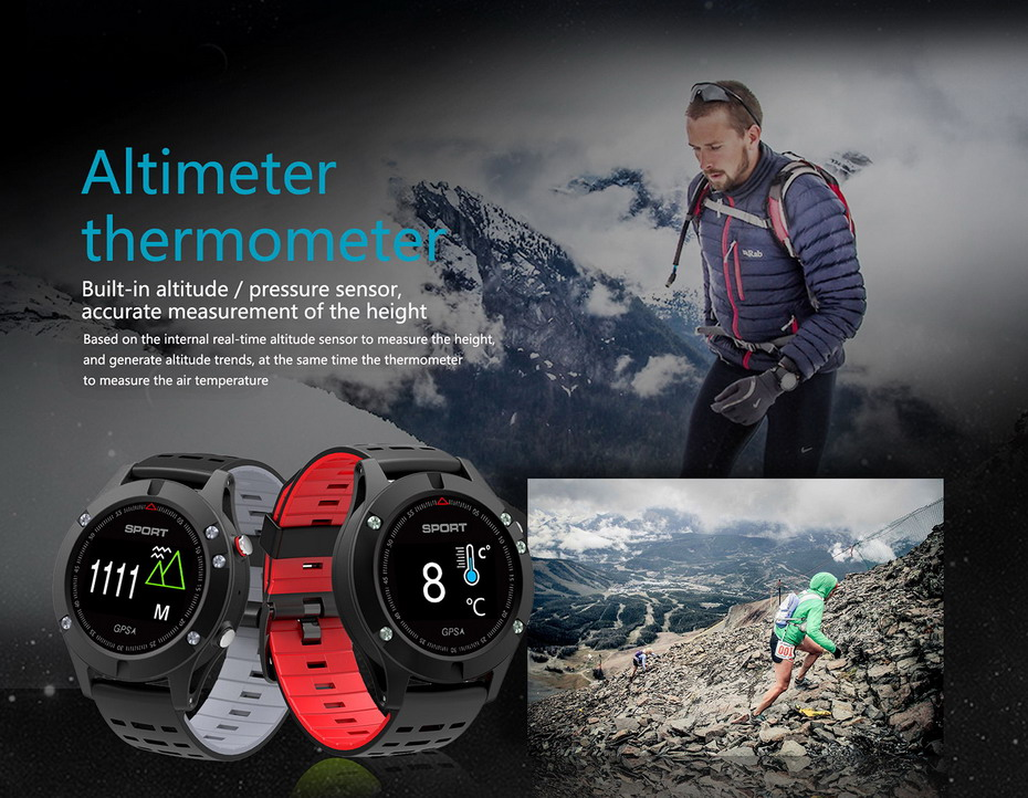 HTB1e92CXN1YBuNjy1zcq6zNcXXat - Smartwatch F5 GPS Heart Rate Monitoring Bluetooth Sport 2018 Model
