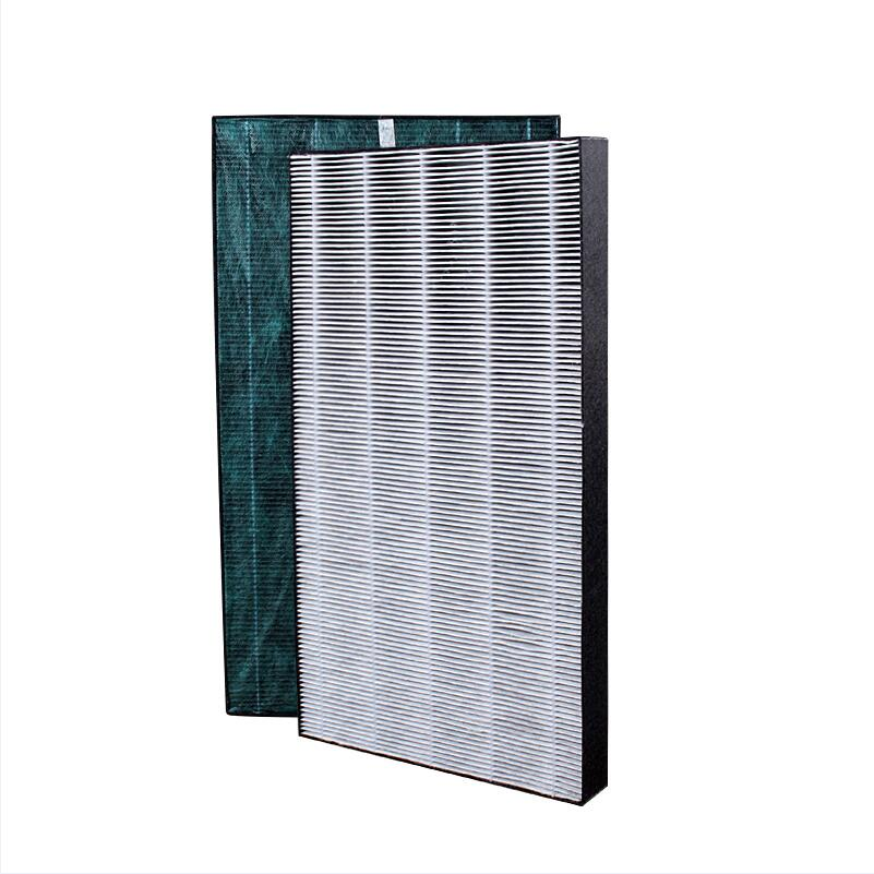 For Sharp Air Purifier KC-WE10/FU-W/B/CE10-W 375*235*32mm Replacement Formaldehyde Heap Filter FZ-WE10TS heap formaldehyde filter fz gb60gt for sharp air purifier kc bb60 w kc wb6 w ki bb60 w kc cd60 w n