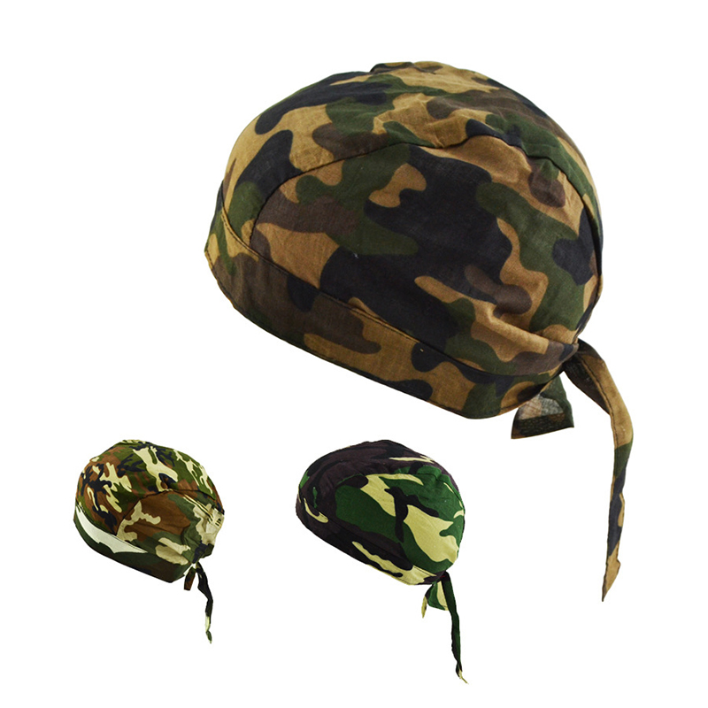 2017 Headbands Camouflage Unisex Hat Bandana Scarf Outdoor Sports Cap Bicycle Bike