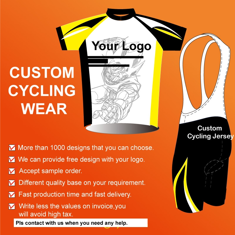 Custom service bicycle shirts for sale/own design breathable custom sublimation cycling shirts clothes bike with your logo