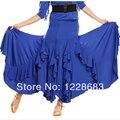 New 2014 Women Lady's Ruffly Performance Ballroom Modern Dance Flamenco Skirt Flamenco Dresses