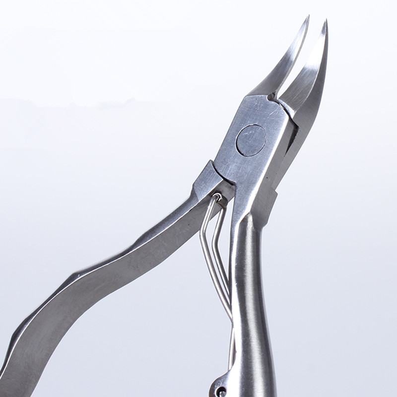 Nail Clipper Trimmer Cutter Podologia Dedo Profesional De Acero - Arte de uñas - foto 4