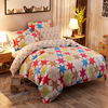 Bedding Set Plaid Stripe Print 100 Cotton Twin Double Queen Duvet Cover Bed Sheet Pillow Bedlinen