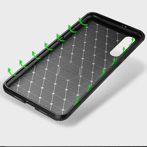 Image 2 - Für Xiao mi mi A3 EINE 3 Fall Luxus Carbon faser Abdeckung Stoßfest Telefon Fall Für mi 9 Lite CC 9 CC 9e Abdeckung Ultra Fit Stoßstange Shell