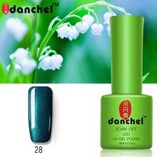 New Danchel 1PC Nail Gel Polish UV LED Shining Colorful 79 Colors 9ML Long Lasting Soak
