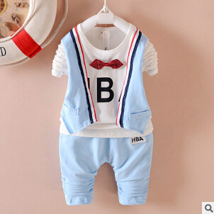 da004569f ộ ộ ༽spring autumn Children christmas clothing sets Baby Boys girls ...