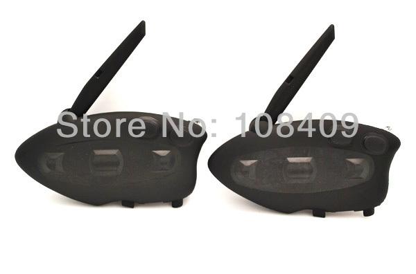 Envío gratis! casco auricular Bluetooth de motocicletas / Bluetooth auriculares manos libres de intercomunicación estéreo + música + Radio FM