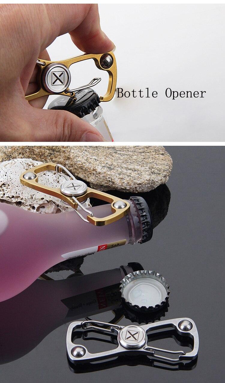 Metal Fidget Spinner Bottle Opener Toys Hand Finger Spinner Wine Bear Rocktail Bottle Opener Desk Finger Spin Toys Anti Stress