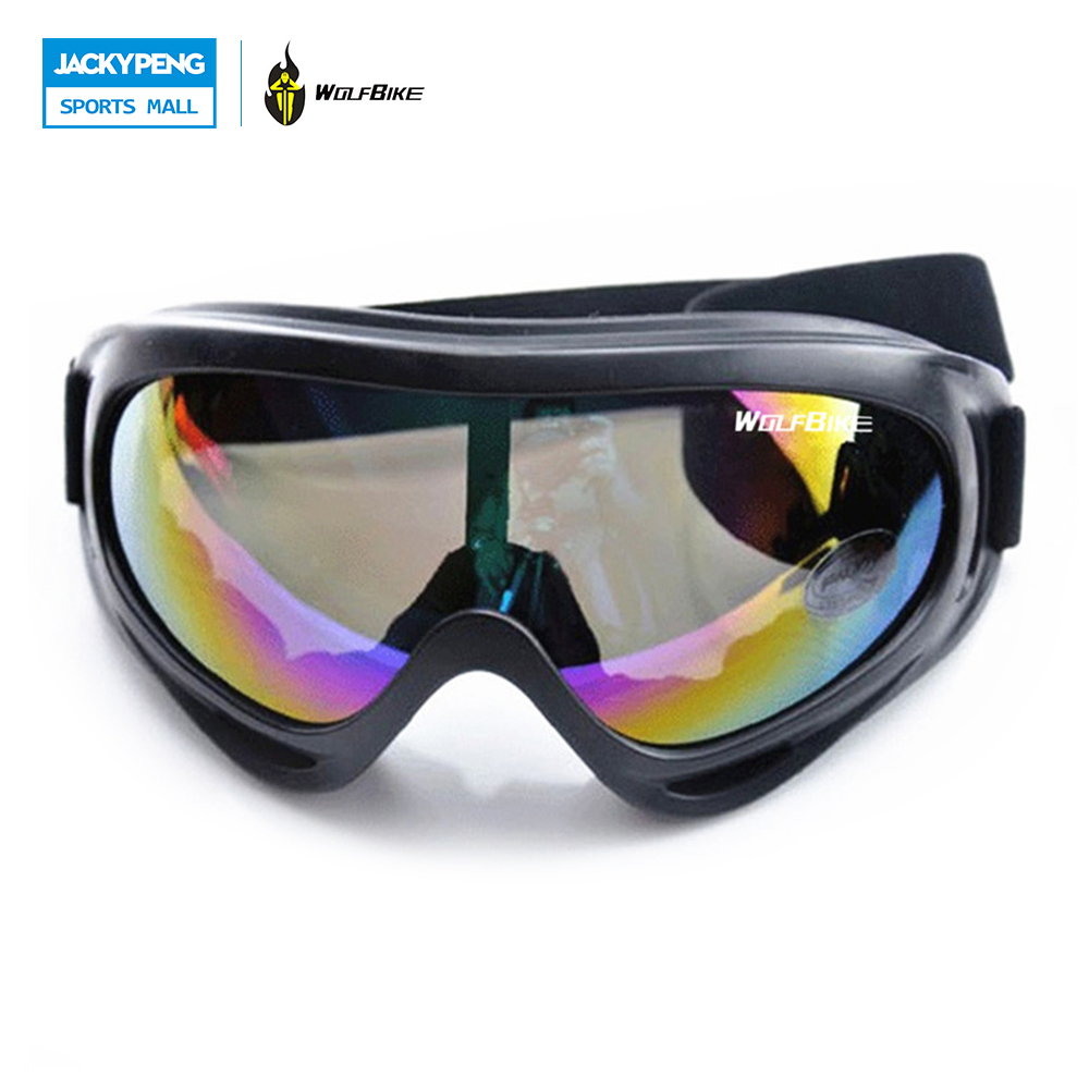 WOLFBIKE X400 100% UV Protection Ski Skiing Goggles Snowboard Glasses Motorcycle Off-Road Cycling Outdoor Sports Eyewear