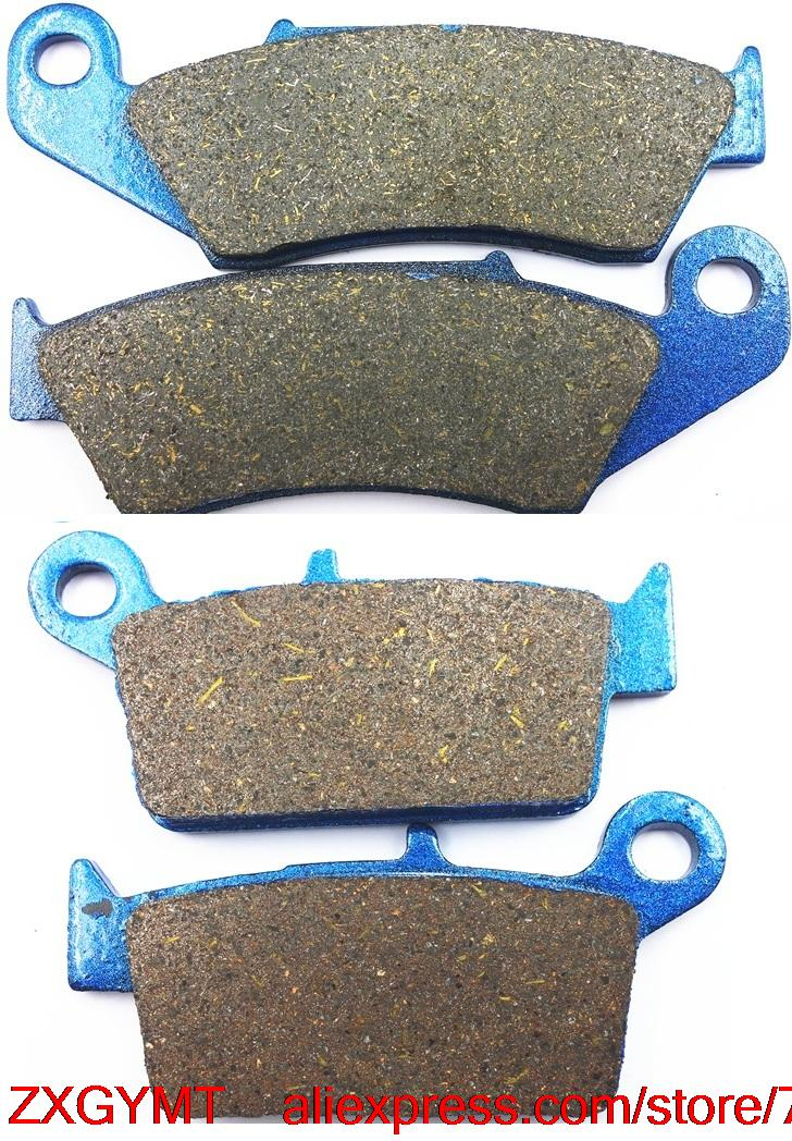 Motorcycle Semi-Metallic Brake Pads Set fit for SUZUKI DR-Z400 DRZ400 DR-Z 400 S /E 2000 & up motorcycle semi met brake pads set for honda xr250 xr 250 s r 1996