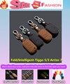 Для Chery Tiggo 3/5 Arrizo 7 стайлинга автомобилей крышка детектор Кожа коровы ключи сумка случаи раза интеллектуальные/складной специальный