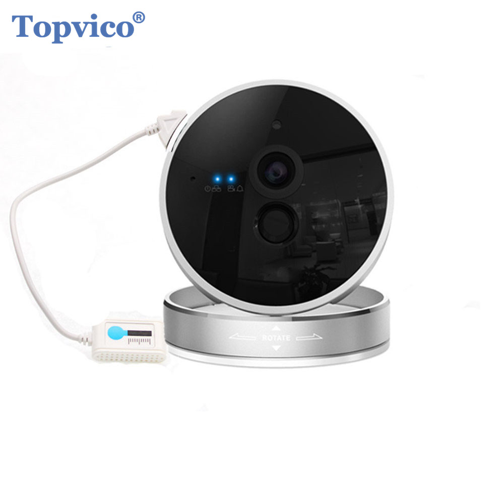 Topvico 1080P IP Camera WIFI with Motion Sensor Temperature Sensor font b Wireless b font ONVIF
