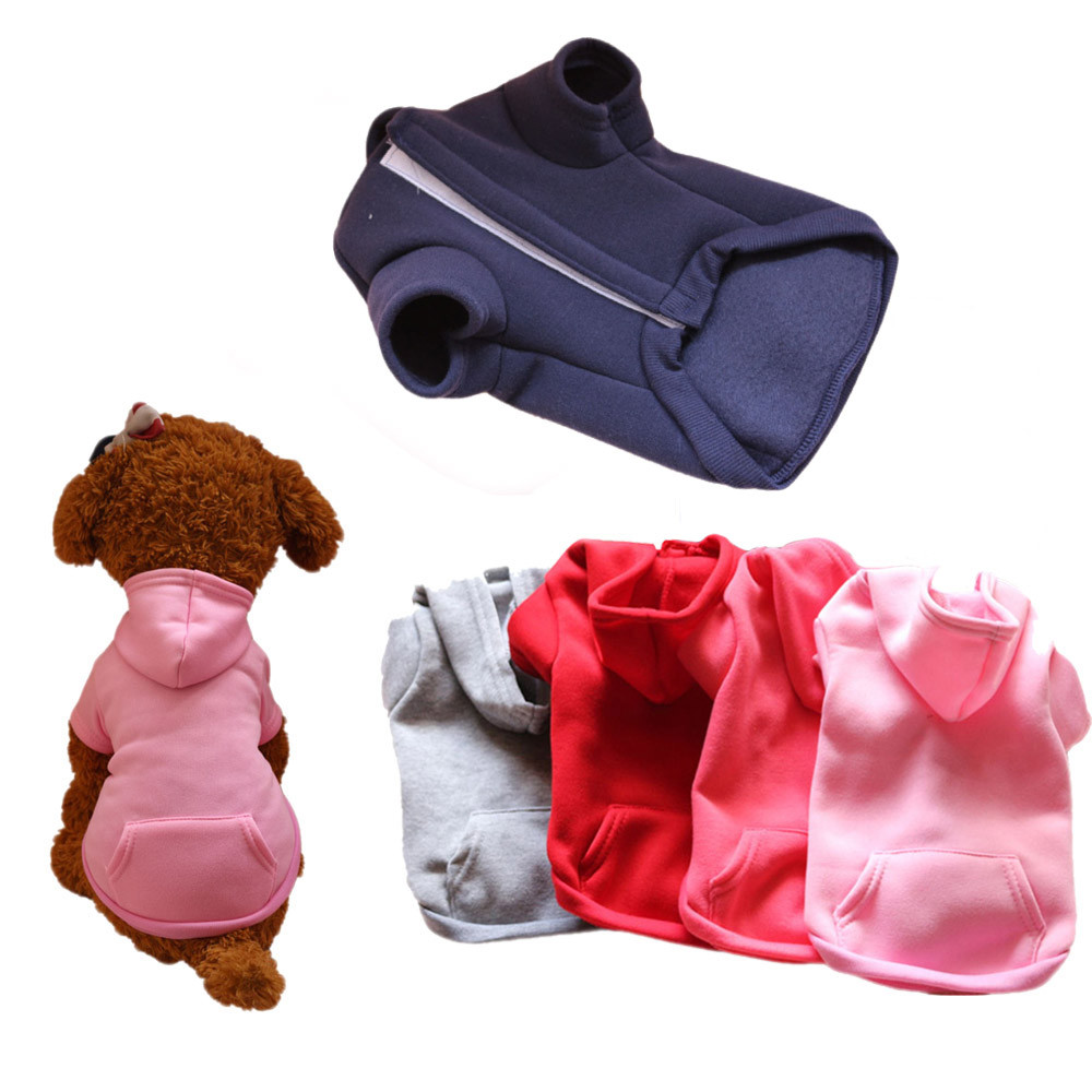 Small Dogs Costume Clothes For Little Dogs Overalls Pet Clothes Autumn Winter Sweater Hooded Jacket Lovely Costume