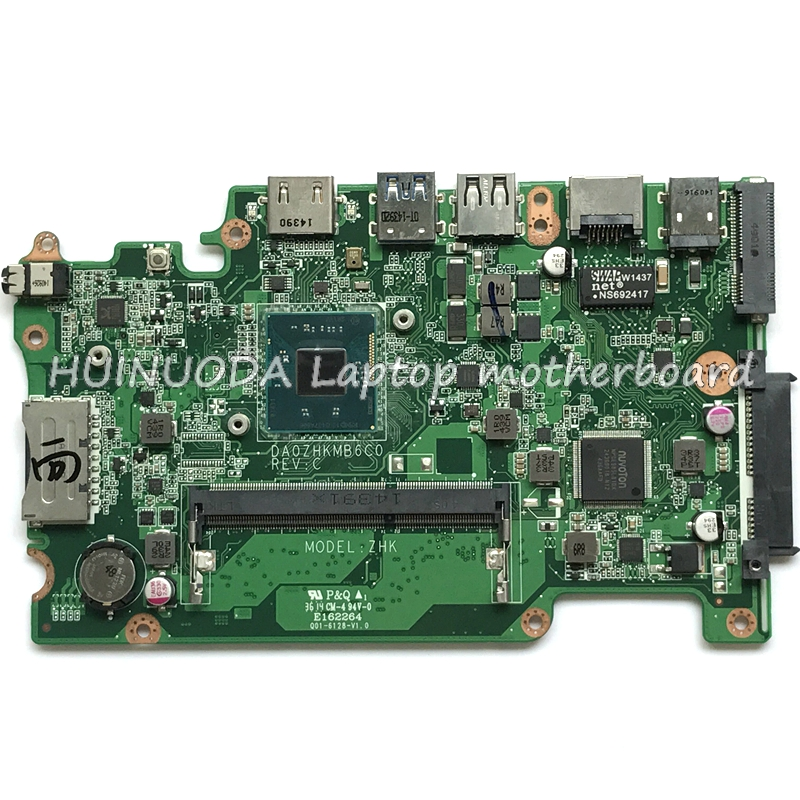 NB.MRK11.001 NBMRK11001 DA0ZHKMB6C0 laptop motherboard for acer aspire E3-112 ES1-111 V3-112P N2840 DDR3L Main board FULL works original for acer aspire es1 111m laptopl motherboard da0zhkmb6c0 nbmrk11001 fully tested
