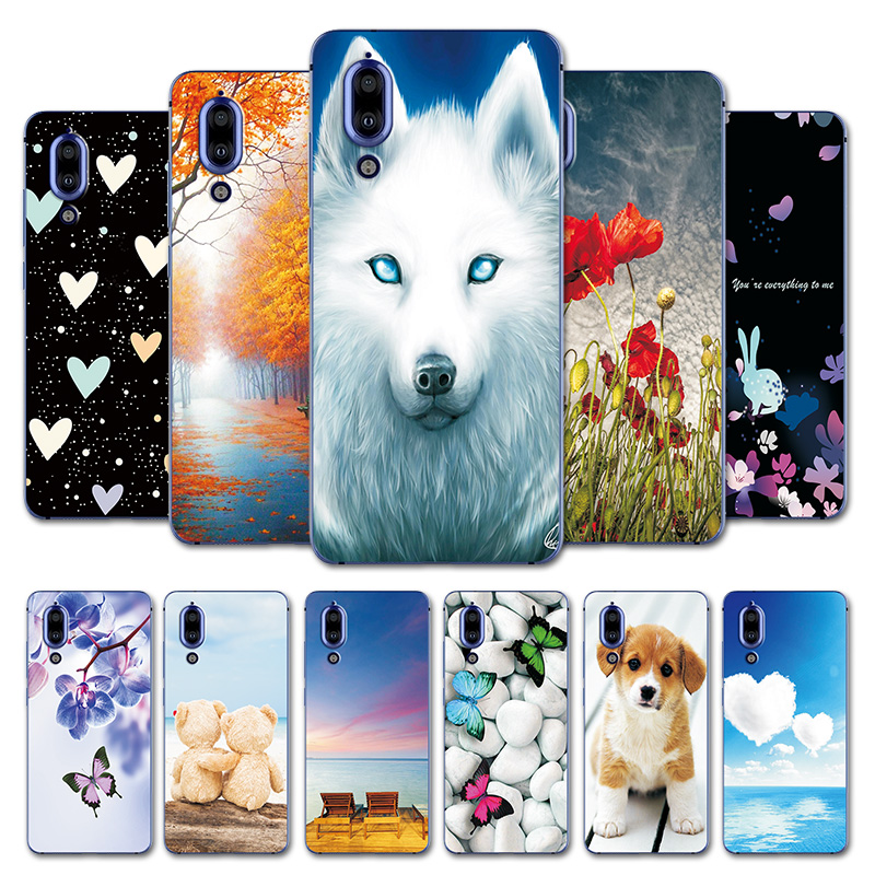 Heart Case For Sharp Aquos S2 FS8010 Printing Soft Cover Bumper Shells For Sharp Aquos S 2 S2 5.5'' Cute Animal Phone Bags