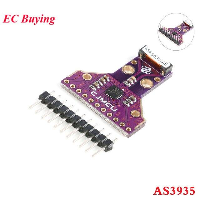 AS3935 Sensor Digital Lightning Sensor Module Strikes Thunder Rainstorm Storm Distance Detection SPI I2C IIC Interface