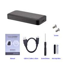 Алюминиевый mSATA к USB 3,1 SSD переходник в корпусе с интерфейсом usb type C для mSATA Внутренний твердотельный жесткий диск