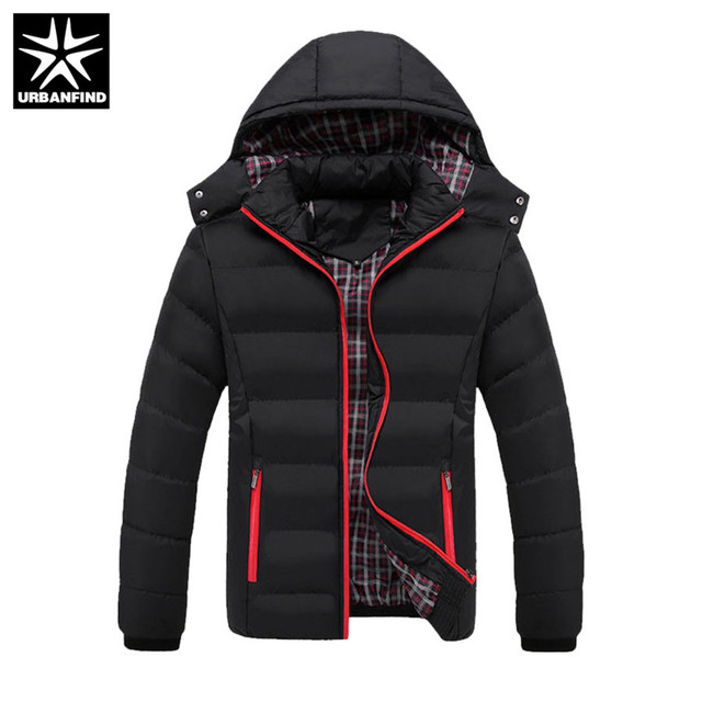 eee3a90e210 Get Discount Price URBANFIND 5XL 2018 Men Winter Jacket Warm Male Coats  Fashion Thick Thermal Men