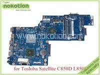 NOKOTION For toshiba satellite C850 C850D L850D Laptop motherboard 15.6'' DDR3 EM1200 CPU Onboard Mainboard H000052450