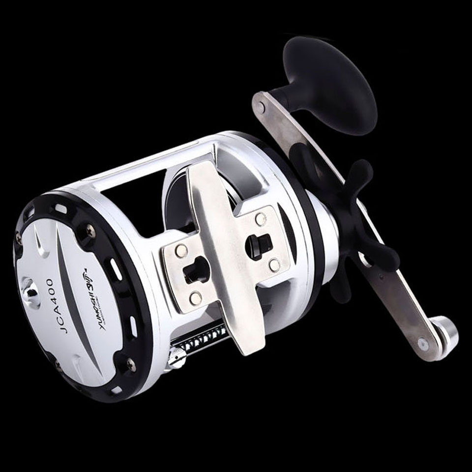 WALK FISH Max Drag Boat Right Handle Optional Lure Fishing Reel Bait Casting Drum Wheel 200/300/400/500