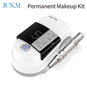 NEW eyebrow Makeup Kits &Lips Rotary  Motor Tattoo Machine Kit Permanent Makeup Machine pen Free Shipping