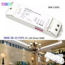 Интеллектуальный драйвер светодиодного диммирования LTECH; DMX-36-12-F1P1; выход DMX512 / RDM 12 В