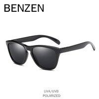 BENZÈNE Polarisées lunettes de Soleil Femmes Classique Coloré Femelle Lunettes de Soleil Rétro UV Dames Conduite Lunettes Hommes Nuances Avec la Boîte 6520