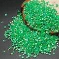 2016 Nuevo 2mm 3mm Jalea AB Resina de Color Verde Oscuro Rhinestone de Acrílico Del Clavo de DIY Arte Decoración de Los Granos DIY Del Clavo Del rhinestone decoración