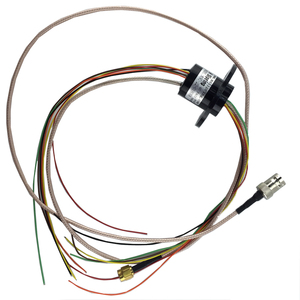 Image 1 - 1080P Mixing Multichannel Sliprings 1CH HD SDI+6CH/12/16 Channel High Frequency Electric Collecting Slip Rings with SMA/BNC