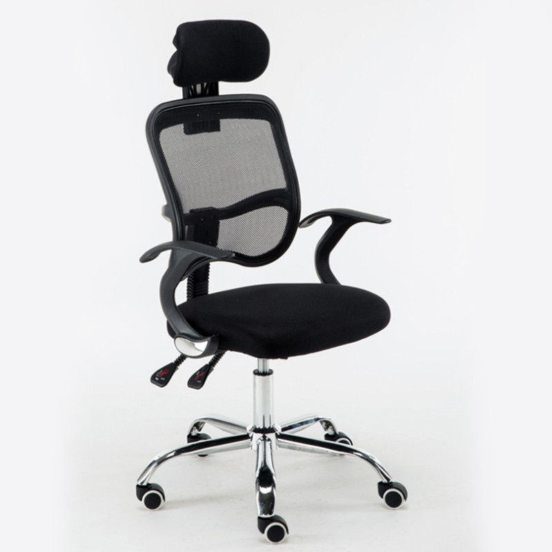 Computer Office Chair Household Electric Competitive Ergonomics Network Cloth Lifting And Lounging Chair Staff