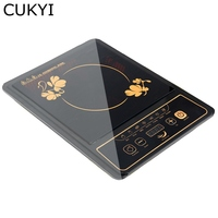 CUKYI 110V Household Electric Induction cooker waterproof no radiation 2000W multifunctional electric induction cooker US plug