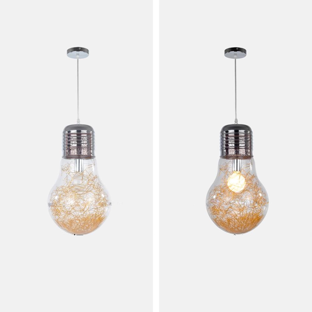 Նորաձև մեծ լամպի ճաշասենյակ կախազարդ - Ներքին լուսավորություն - Լուսանկար 5