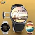 Gft kw18 smart watch wearable dispositivos android smartwatch bluetooth conecte o suporte do cartão sim relógio do telefone relógio de pulso
