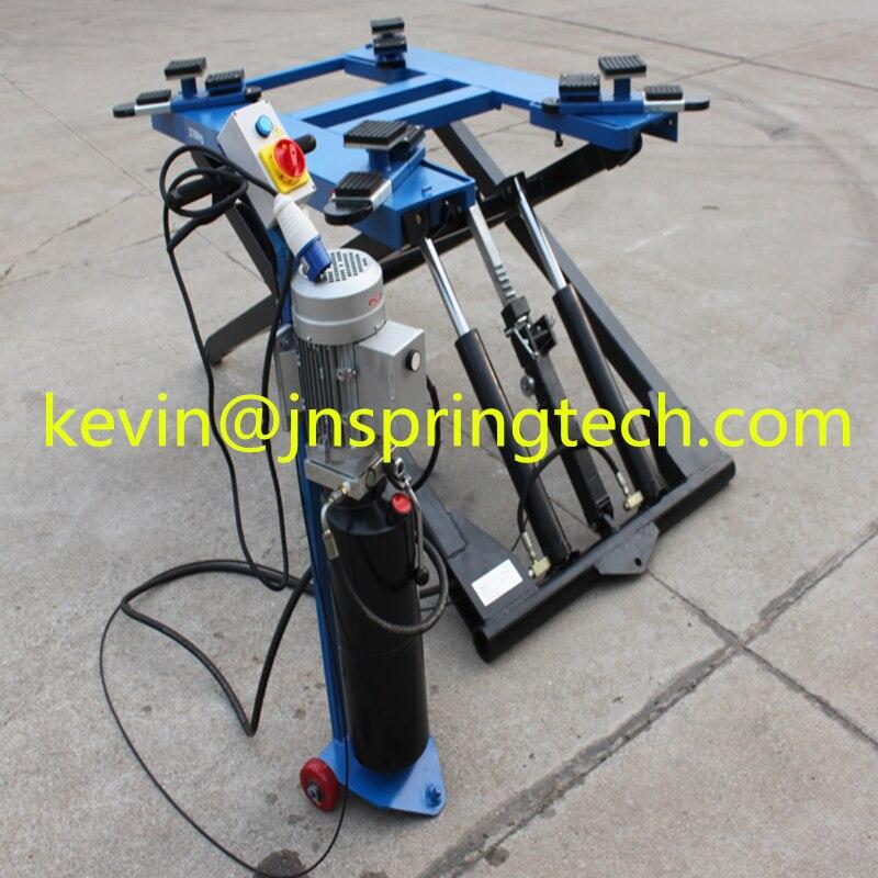 Portable scissor car lift home garage car SUV with ce